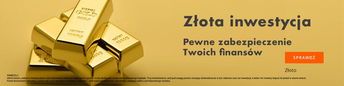 Złoto: najlepsza inwestycja