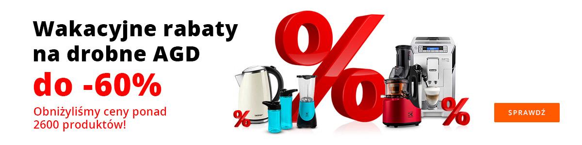 Drobne AGD do -60%