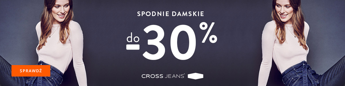 Cross Jeans taniej o 30%