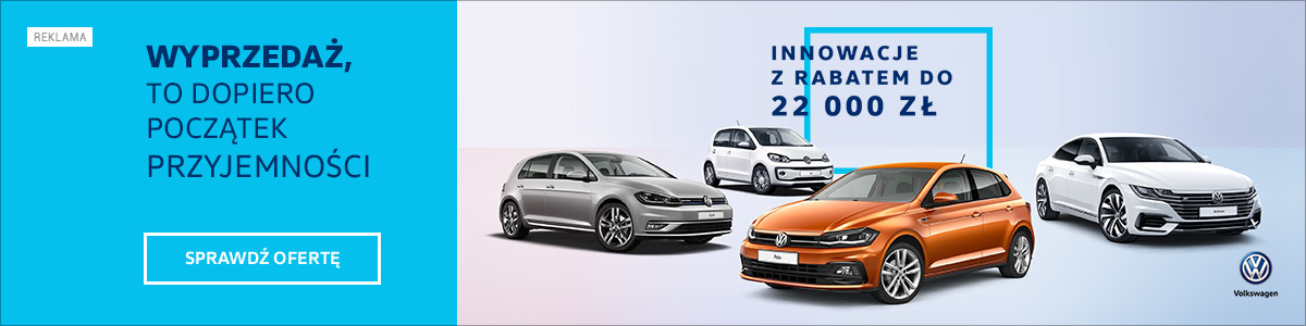 Volkswagen - wyprzedaż