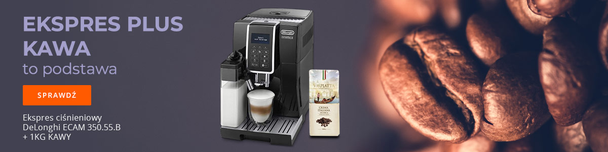 Ekspres do kawy + gratis!
