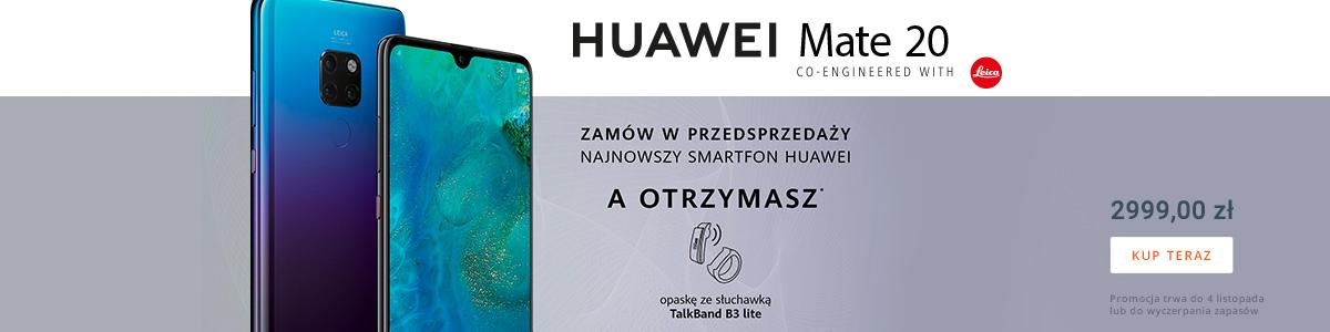 Nowy Huawei - przedsprzedaż