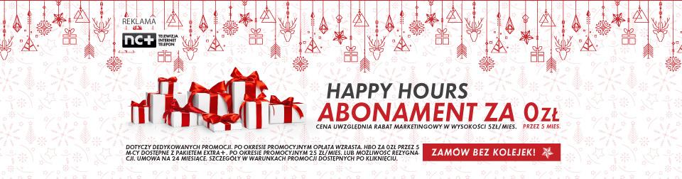 Happy Hours: Abonament 0 zł