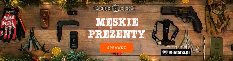 Męskie prezenty od Militaria.pl