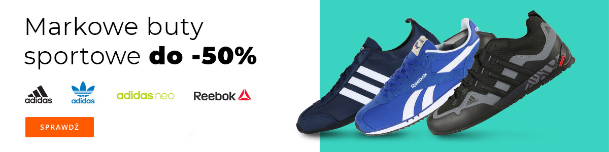 adidas i Reebok do -50%