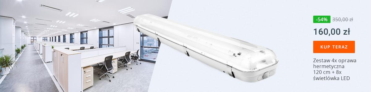 Oprawy hermetyczne LED