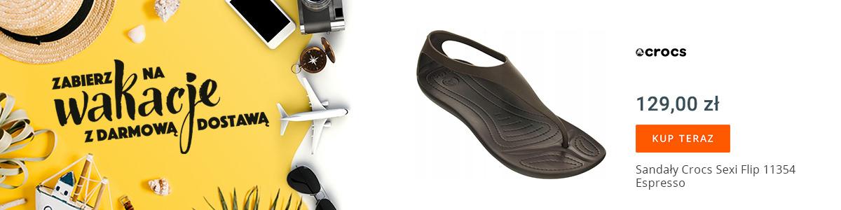 Sandały z darmową dostawą