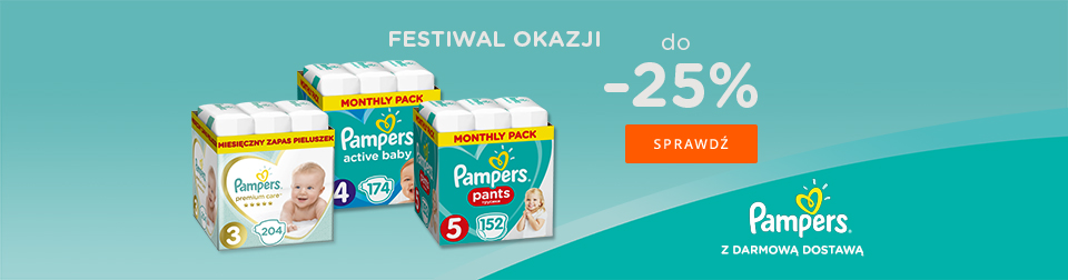 Promocje Pampers