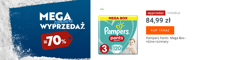 Pampers w supercenie