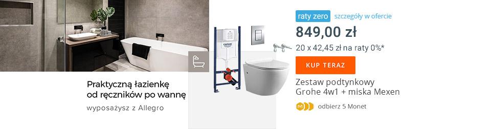 Zestaw WC 4w1