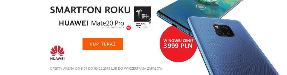 Promocja Huawei Mate20 Pro