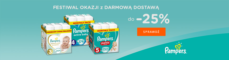 Pampers -25%