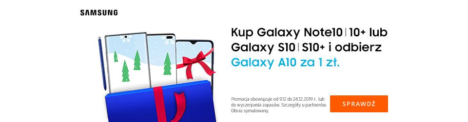 Galaxy A10 za 1 zł