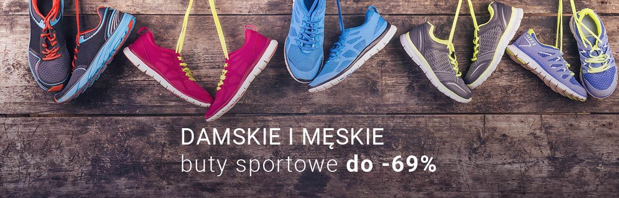 buty sportowe damskie i męskie do -69%