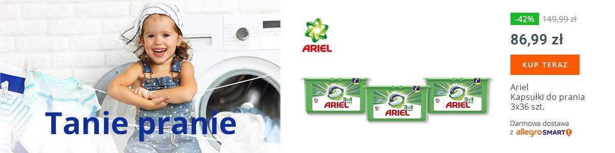Tanie pranie