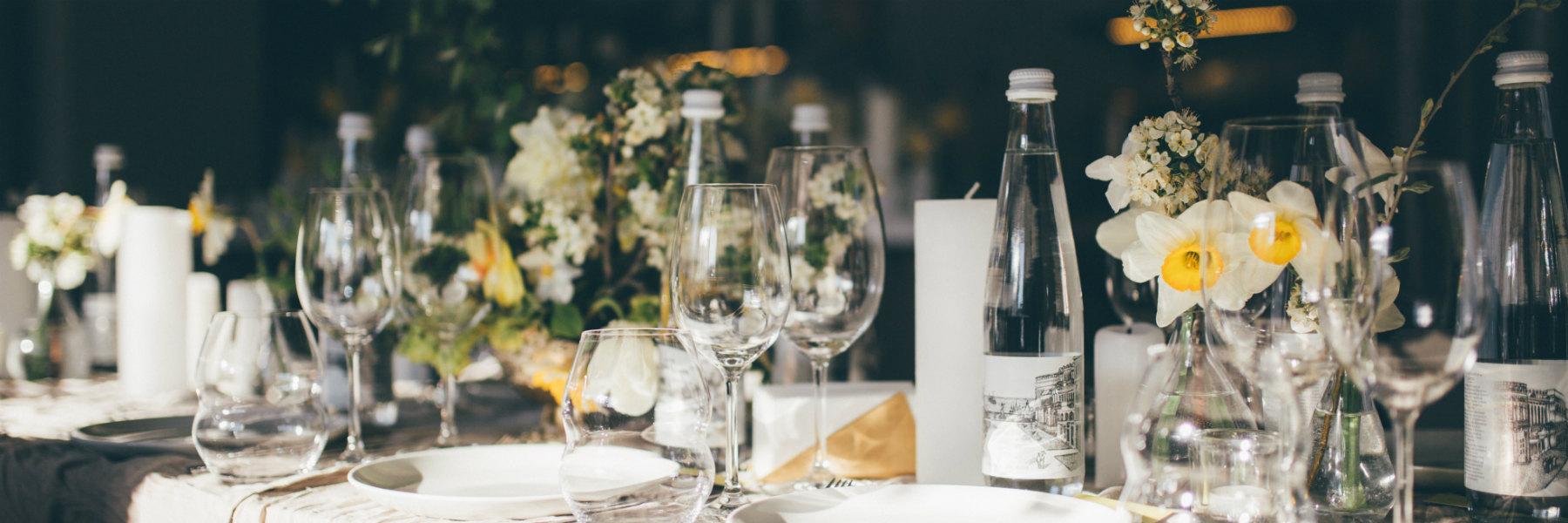 nakrycie stołu na imprezy rodzinne