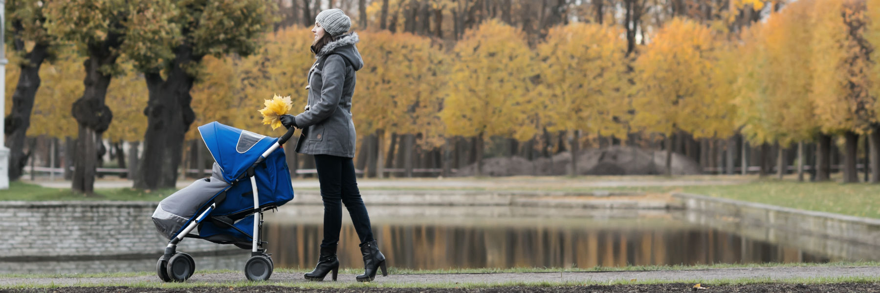 spacerówka na każdą pogodę
