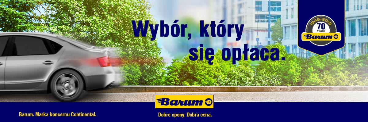 Barum - wybór, który się opłaca
