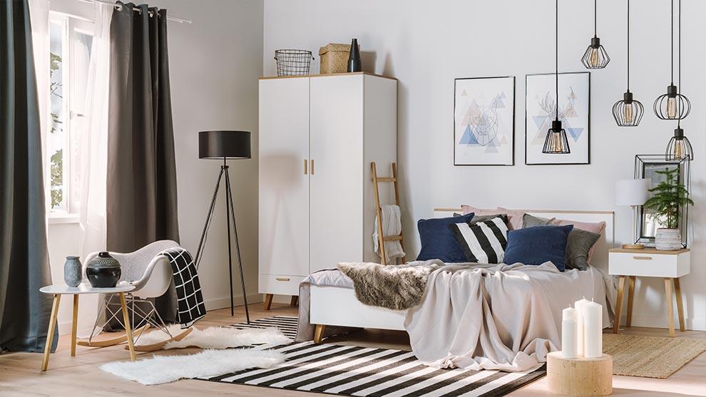 Sypialnia W Stylu Skandynawskim Aranżacja Allegropl