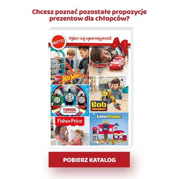 Katalog zabawek dla chłopców