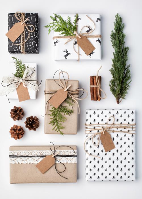 akcesoria do pakowania prezentow
