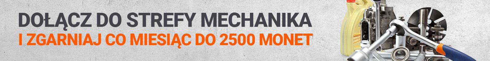 Dołącz do Strefy Mechanika i zgarniaj co miesiąc do 2500 Monet