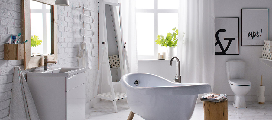 łazienka W Stylu Skandynawskim Allegro