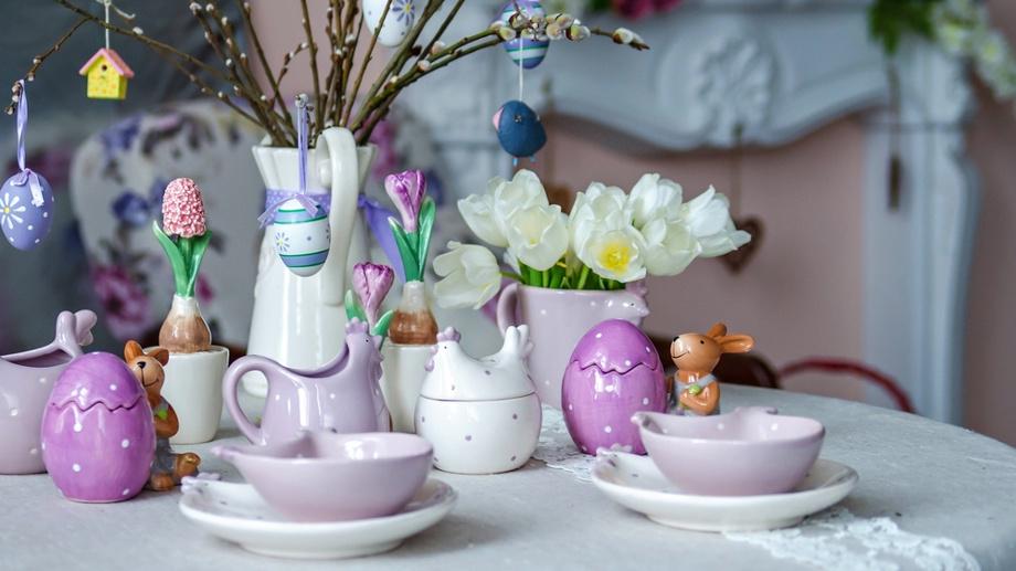 kurczaczki zajaczki jajeczka czekoladowe porcelanowe plastikowe czy szklane