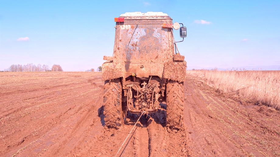 holowanie traktorem
