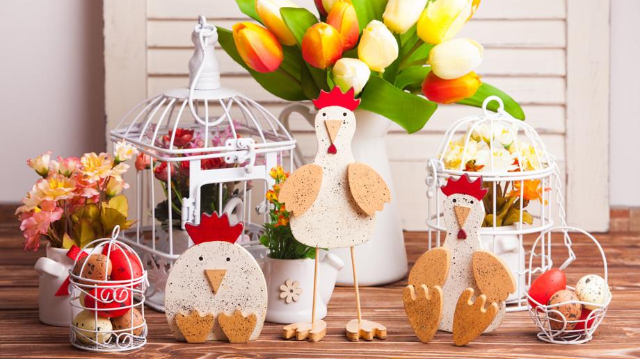 dekoracje wielkanocne 2017 kurczaczki zajaczki jajeczka czekoladowe porcelanowe plastikowe czy szklane