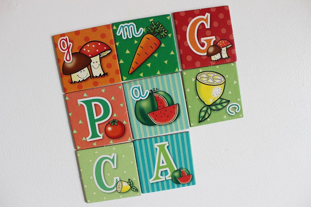 fotografická hra č. 5, ktorú nazývame zelenina a ovocie