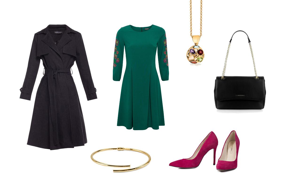 ef16cfaedd69bf Szmaragdowa sukienka - eleganckie stylizacje dla każdej z nas ...