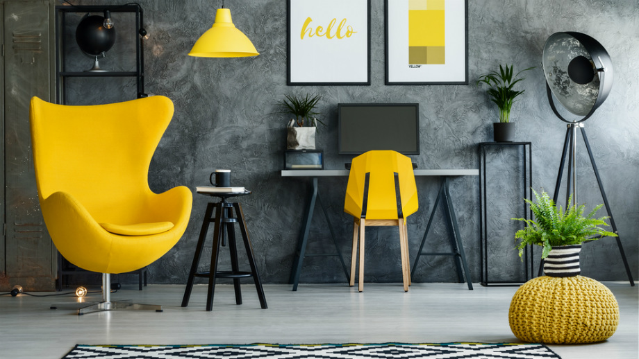 Jak Ożywić Szare Wnętrze Najlepsze żółte Dodatki Allegropl