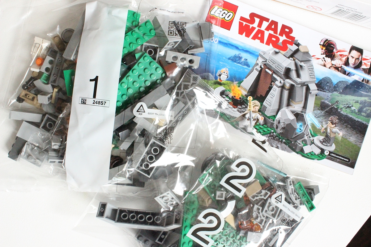 obsah balenia 2 plastové vrecká s blokmi