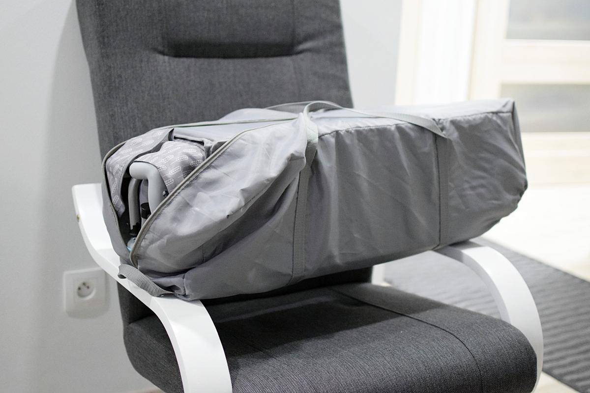 folded cot