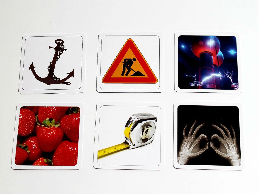 ukážkové kópie kariet
