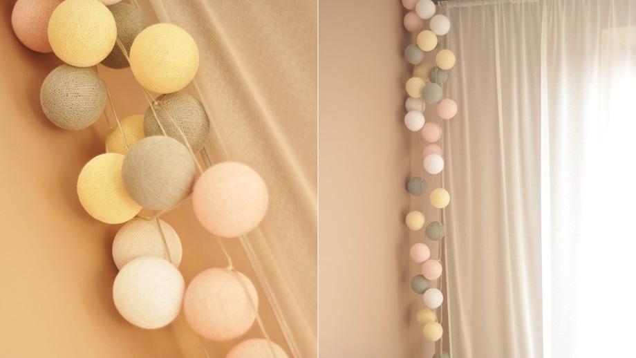Cotton Ball Lights Wnętrzarski Hit Allegropl