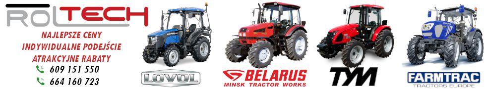 Ciagnik Autoryzowany Dealer Maszyn Rolniczych I Ciagnikow Roltech Strefa Marek Allegro