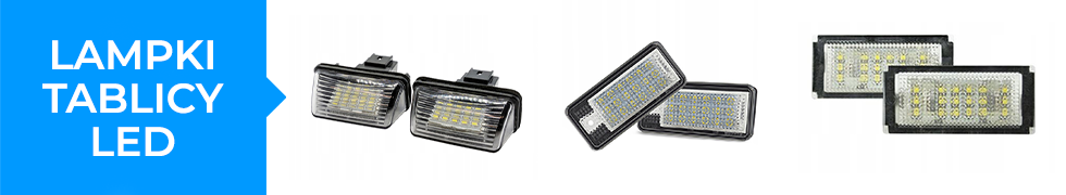LAMPKI TABLICY LED