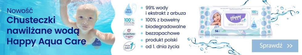 Chusteczki Happy 99% wody
