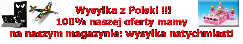 Wysyłka z Polski!